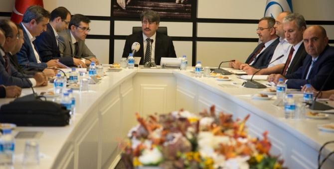 SGK'da tıbbi malzemeler sektör toplantısı yapıldı