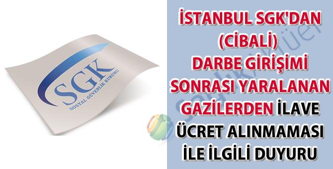 İstanbul SGK'dan ilave ücret yazısı