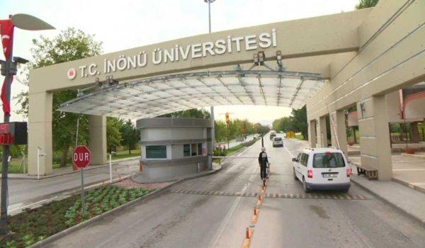 İnönü Üniversitesi'nde devir teslim