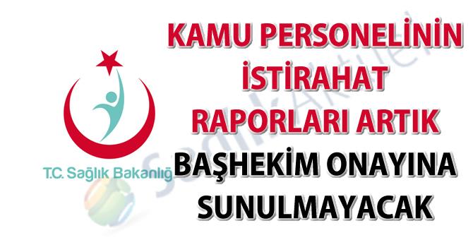 İstirahat raporlarının düzenlenmesi hakkında güncel duyuru-18.08.2016