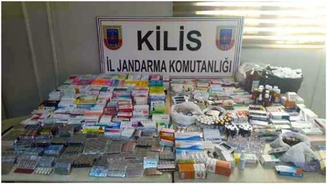 6 bin 667 adet çeşitli markalarda tıbbi ilaç ele geçirildi