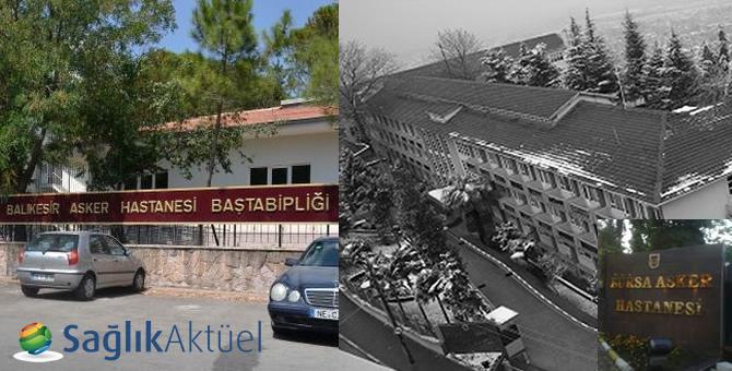 Bursa ve Balıkesir'deki asker hastaneleri Sağlık Bakanlığına devredildi