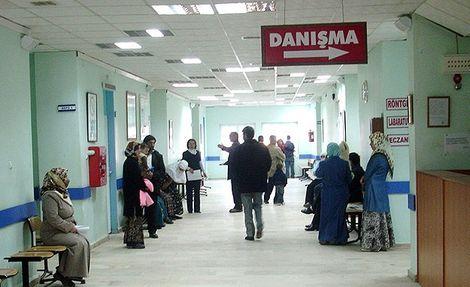 Üniversite hastanesindeki bazı servislerde doktor kalmadı!