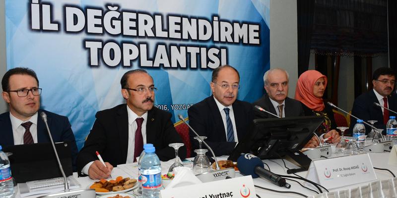 """Bakan Akdağ: """"3 yıl içerisinde sağlıkta hamle yılı olacak"""""""