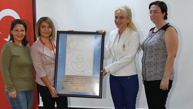 Tınaztepe'ye 'Bebek dostu hastane' unvanı