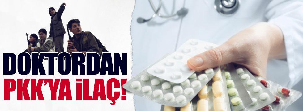 Doktor ve hemşireden PKK'ya ilaç yardımı