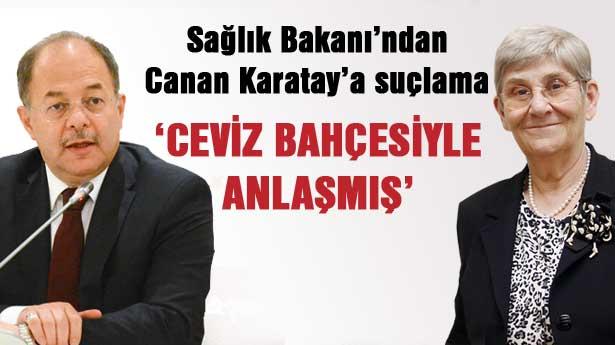 Bakan Akdağ'dan Canan Karatay'a eleştiri: Milyonlar kazanıyor