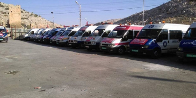 'Bir Ambulans Bin Yaşam' projesi