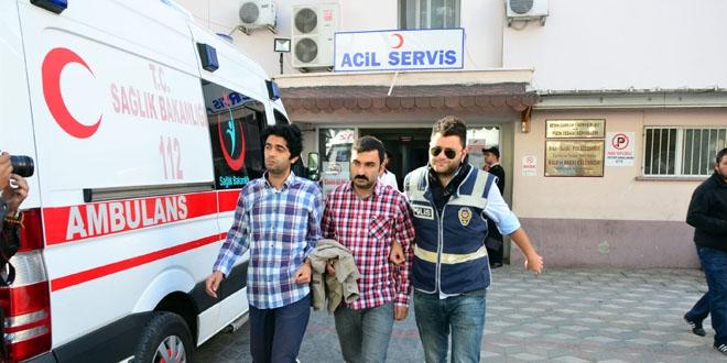 Manisa'da 2 hakim, 2 savcı ve 1 doktor adliyeye sevk edildi