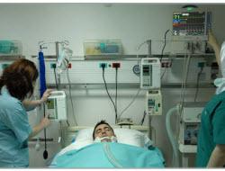 Yoğun bakım hastalarına telekonferanslı görüş