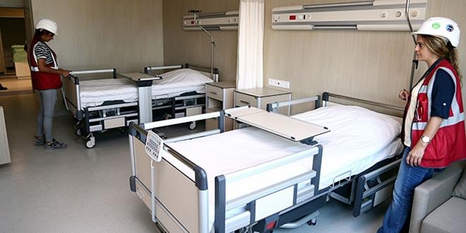 O hastanede 'beş yıldızlı otel konforu'