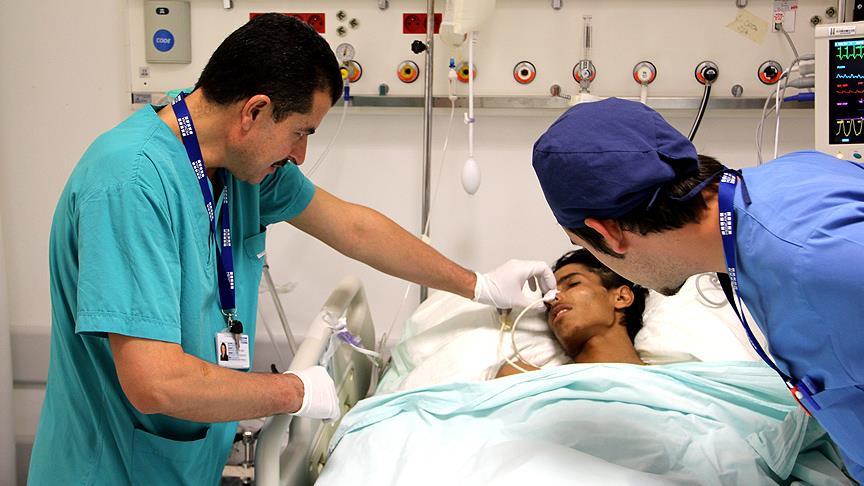 AID'nin Suriye'deki sağlık çalışmaları