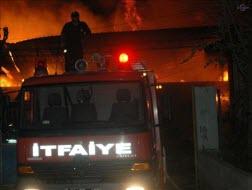 Bursa'da hastane yangını