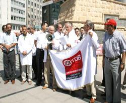 Dişhekimlerinden protesto