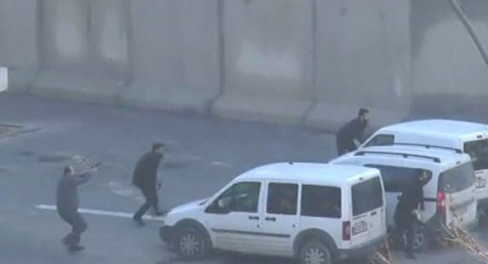 SON DAKİKA: Gaziantep Emniyet Müdürlüğü önünde çatışma