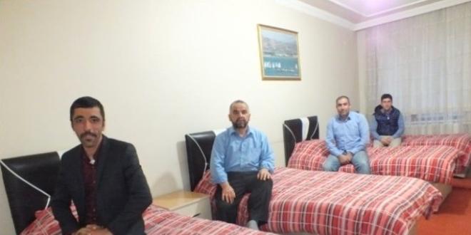Van'da hasta yakınlarına 'otel konforunda' hizmet
