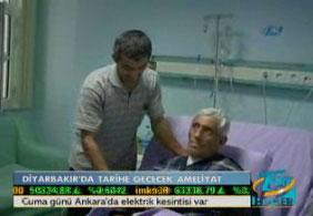 Diyarbakır'da tarihe geçecek ameliyat