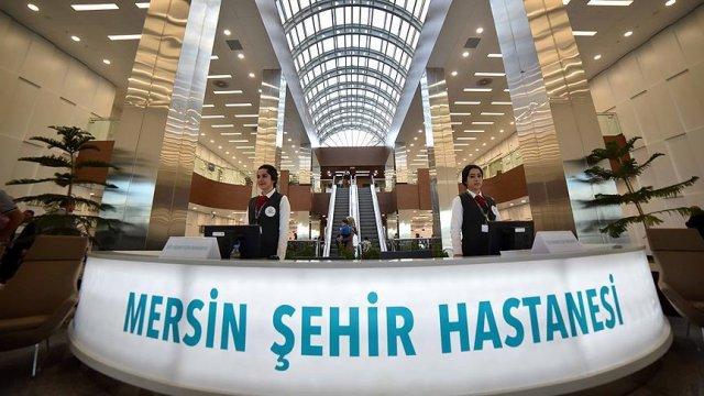 Mersin Şehir Hastanesi'nde 1,5 ayda 120 bin hasta, 2 bin ameliyat