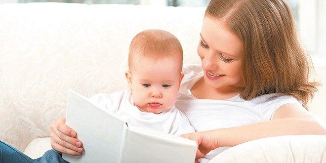 Bebeklere altı aylıktan itibaren kitap okuyun