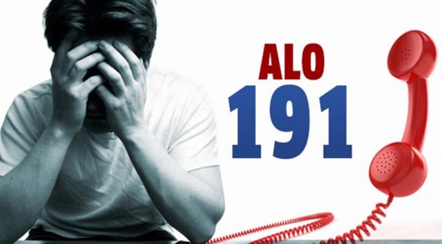 'ALO 191' madde bağımlılarının umudu oldu