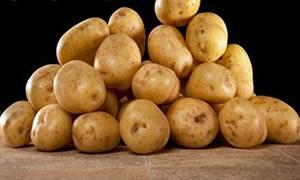 Patatesle ışıltılı gözler