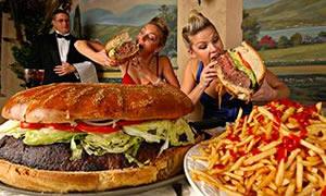 Hızlı Yemek Yerken 1 Dakika Düşünün!