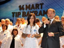 Akdağ'dan Tıp Bayramı Kutlaması
