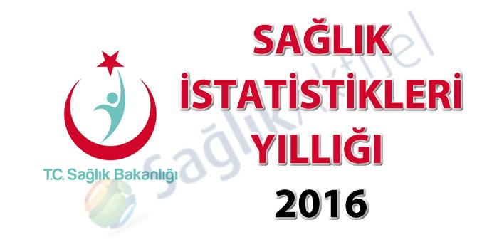 Sağlık İstatistikleri Yıllığı 2016