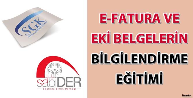 Sabider&SGK e-fatura eğitimi