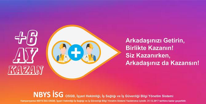 İşyeri Hekimlerinin Dikkatine!.. 6 Ay NBYS İSG OSGB, İşyeri Hekimliği, İşyeri Sağlığı ve Güvenliği Bilgi Yönetim Sistemi Lisansı Kazanın!