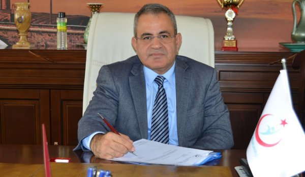 Kırşehir Sağlık Müdürlüğünde devir teslim töreni