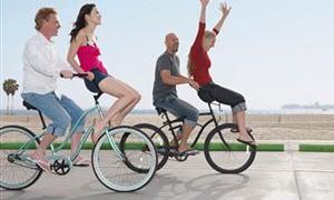 15 dakikadan fazla bisiklete binmek beli zorluyor!