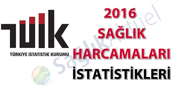 Sağlık Harcamaları İstatistikleri, 2016