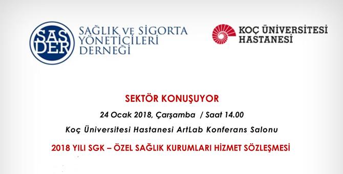 SGK - Özel Sağlık Kurumları Hizmet Sözleşmesi toplantısı...