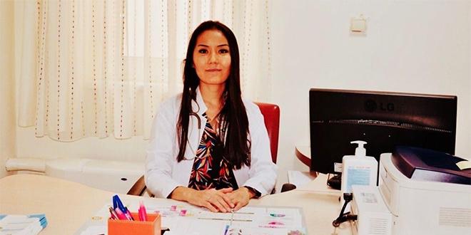 Moğolistan doğumlu doktor göreve başladı