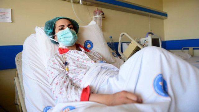 Türkiye'de ikinci kalp nakli yapılan ilk, dünyada ise üçüncü kişi oldu!