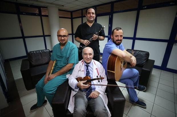 """Kalp damar cerrahisinin """"müzisyen"""" doktorları"""