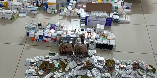 İstanbul'da bir milyonun üzerinde kaçak ilaç ele geçirildi