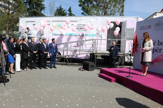Türkiye'den Arnavutluk sağlık sektörüne destek