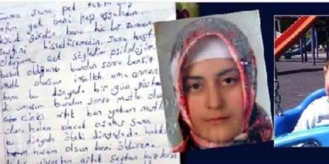 Gaziantep'te yaşanan 'aile içi cinnetin' mektubu ortaya çıktı