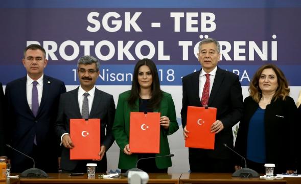 SGK ve TEB arasında ilaç temini protokolü imzalandı