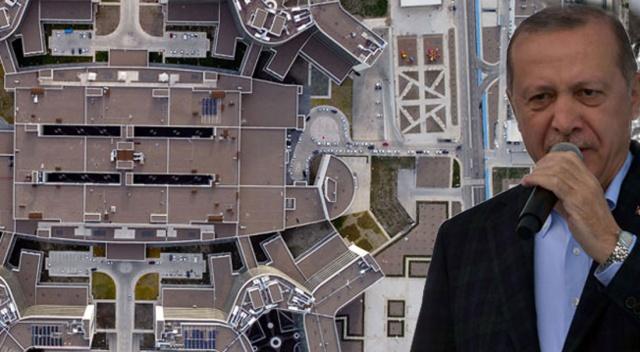 Cumhurbaşkanı Erdoğan, Kayseri Şehir Hastanesi'nin açılışına katıldı