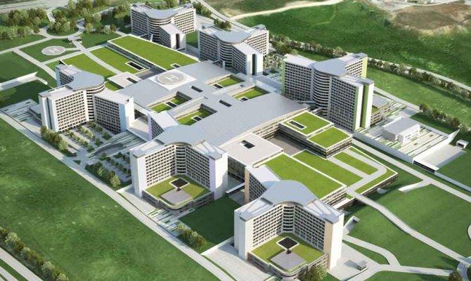 Avrupa'nın en büyüğü Şehir Hastanesi için geri sayım