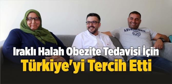 Iraklı Halah obezite tedavisi için Türkiye'yi tercih etti