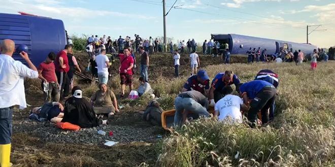 Erdoğan, tren kazası ile ilgili bilgi aldı