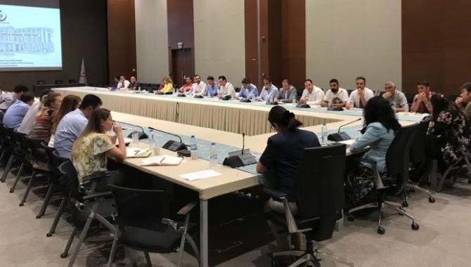 Bilkent Şehir Hastanesi ilaç sipariş yönetimi toplantısı yapıldı