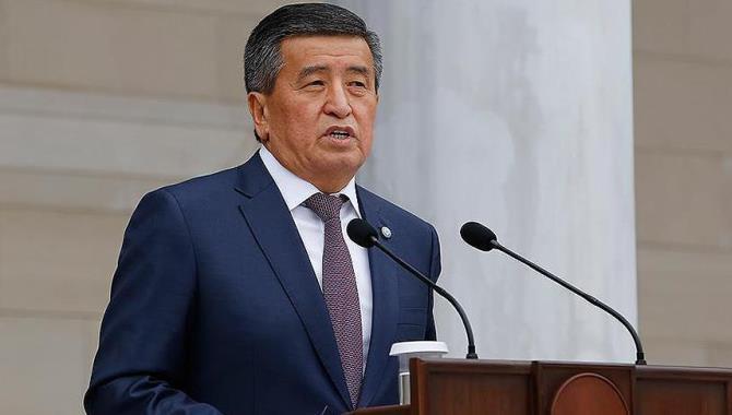 """Kırgızistan Cumhurbaşkanı: """"Türkiye ile sağlık alanında büyük başarıya imza attık"""""""