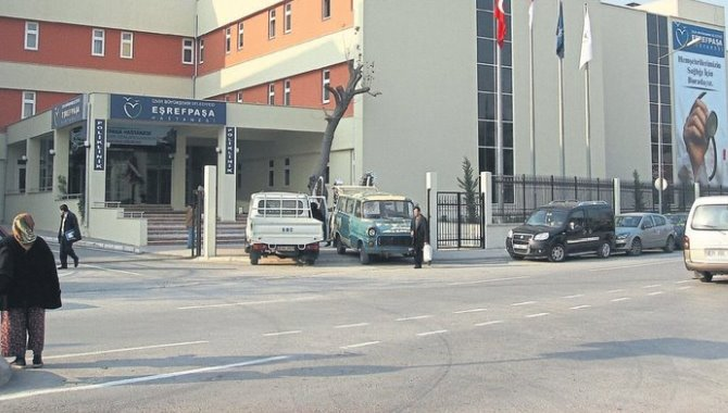 İzmir Eşrefpaşa Hastanesinde yangın