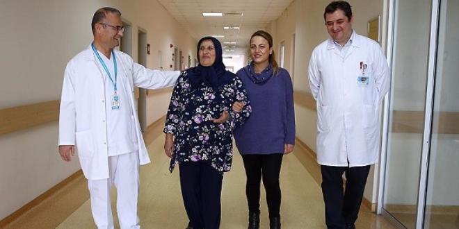 Hastalığından 12. ameliyatta kurtuldu