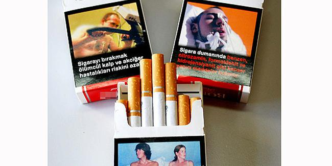 Uyarıyı paketle birlikte sigaraya da yazacaklar